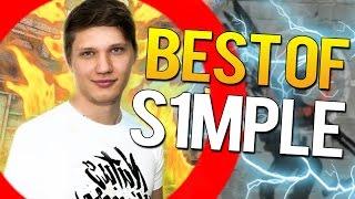 CS:GO BEST OF S1mple (VAC SHOTS,CRAZY CLUTCHES)