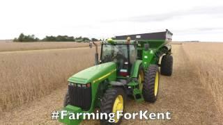 Farmers helping farmers, Krukewitt Family Harvest 2016 #FarmingForKent