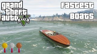 The Fastest Boats In GTA V (2014)
