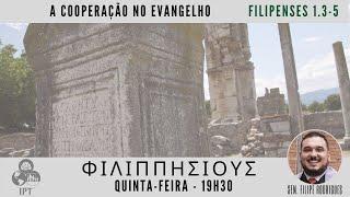A cooperação no evangelho - Filipenses 1.3-5