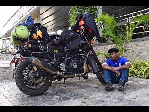 fully loaded HIMALAYAN/ Mumbai - Ahmedabad/ day 1