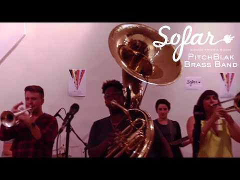PitchBlak Brass Band - Are You That Somebody (Aaliyah Cover)   Sofar NYC