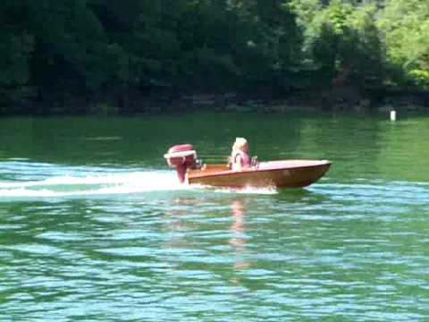 Glen-L Pee Wee homemade runabout boat