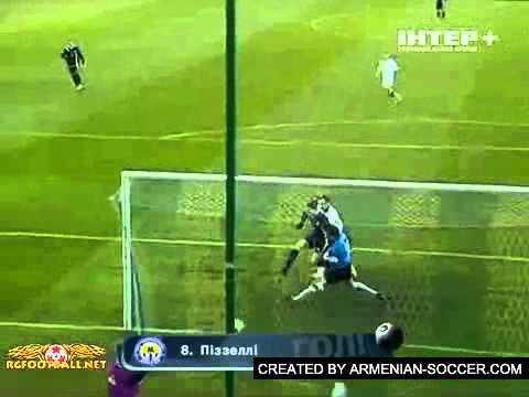 M.Pizzelli's Goal (Metallurg Donetsk) Vs Zarya, UPL, Week 20