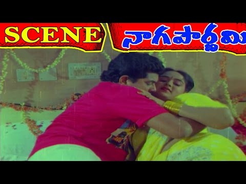 Naga Pournami Movie Scenes - Gayatri romance with Ravi | Arjun | Radha | V9videos thumbnail