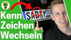 Kennzeichen Wechseln ✅ TOP ANLEITUNG: Auto Nummernschild Abmachen & KFZ Autokennzeichen Abmontieren!