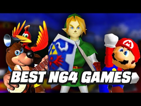 Ranking The Best N64 Games