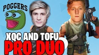 XQC and TFUE FORTNITE DUO for the FIRST TIME!