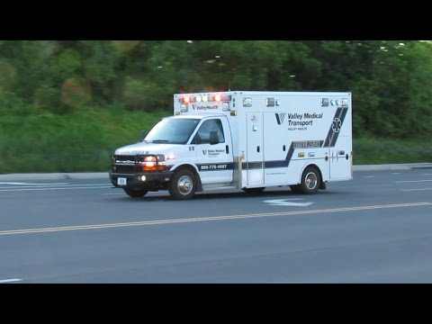 Valley Medical Transport Ambulance 95 Transporting