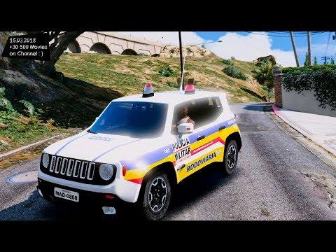 RENEGADE PMMG RODOVÁRIA (ELS) BRAZILIAN POLICE V1 Grand Theft Auto V MGVA Modification