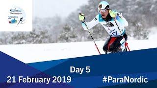 Day 5 | 2019 World Para Nordic Skiing Championships | Prince George