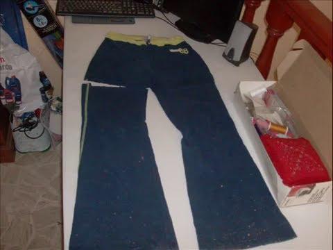 036 Como Cambiar Un Pantalón A Falda Costura Facil Y Ganchillo Crochet