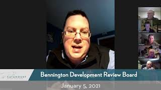 Bennington Development Review Board // 1-5-21