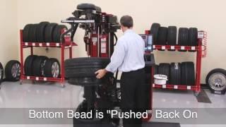 Revolution Tire Changer Training - Procedure Wheel
