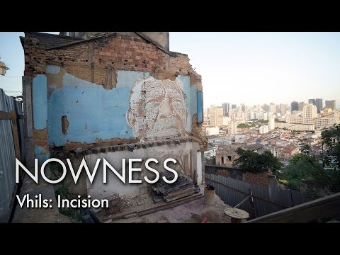 Vhils : Incision - The street artist artist's ode to Brazil's forgotten community, the Guaraní