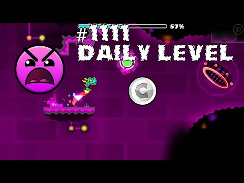 DAILY LEVEL #1111 Geometry Dash 2.11 SCENIC ROUTE