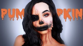 Citrouille Dégoulinante | Maquillage Halloween