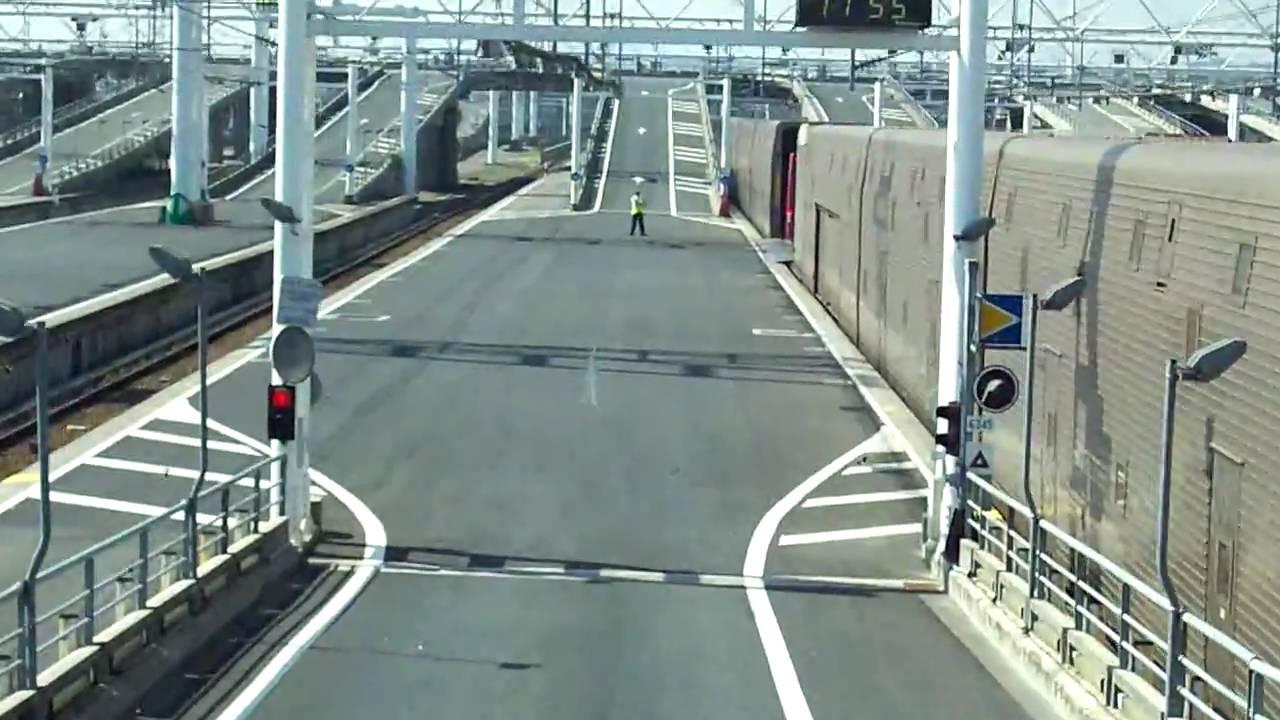 eurotunnel calais france youtube