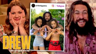Jason Momoa Finally Caved And Let His Kids Start Watching TV During The Pandemic