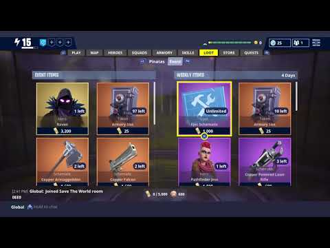 Fortnite Save the World  **New Schedule**