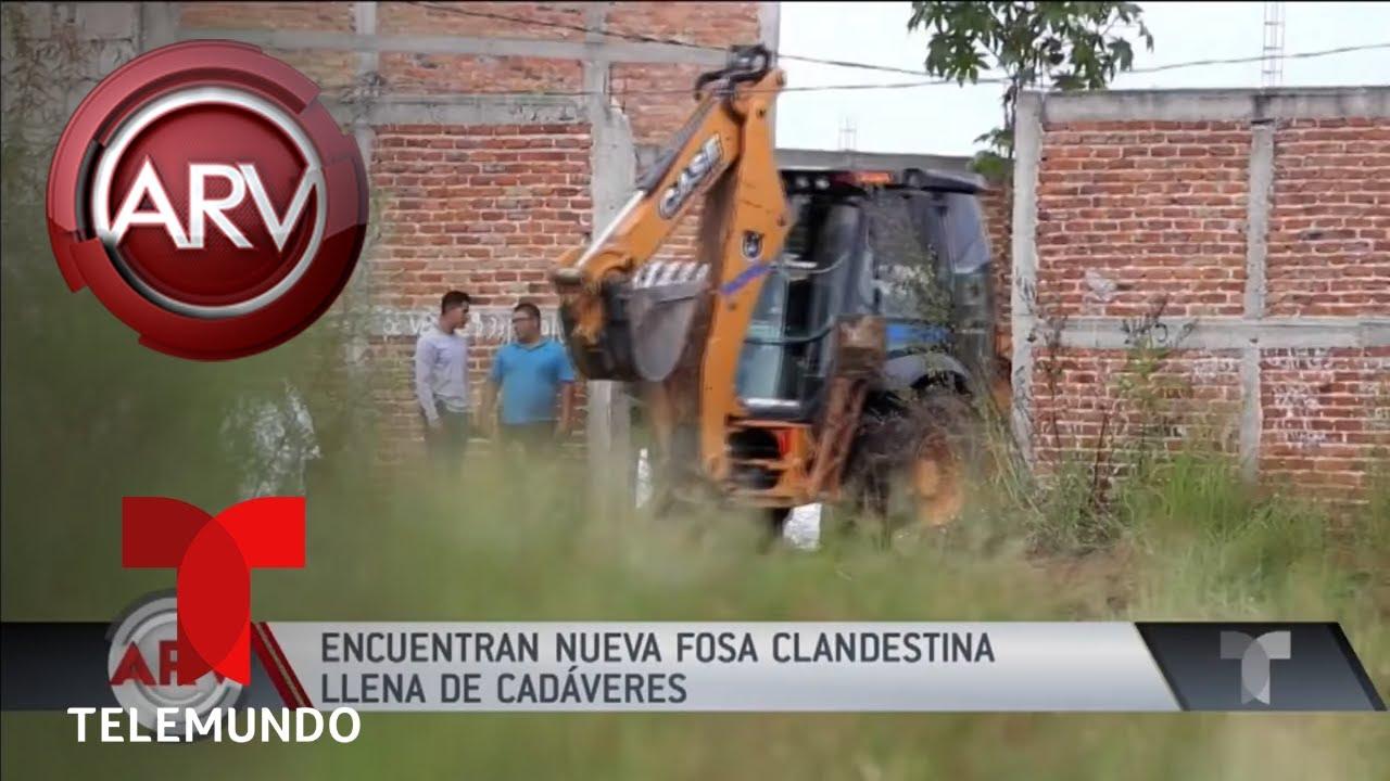 siguen-apareciendo-fosas-clandestinas-en-mxico-al-rojo-vivo-telemundo