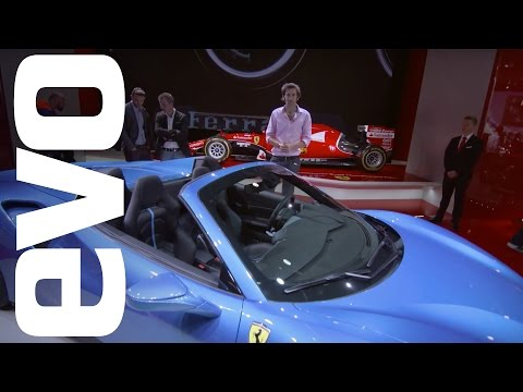 Ferrari 488 Spider at Frankfurt 2015   evo MOTOR SHOWS
