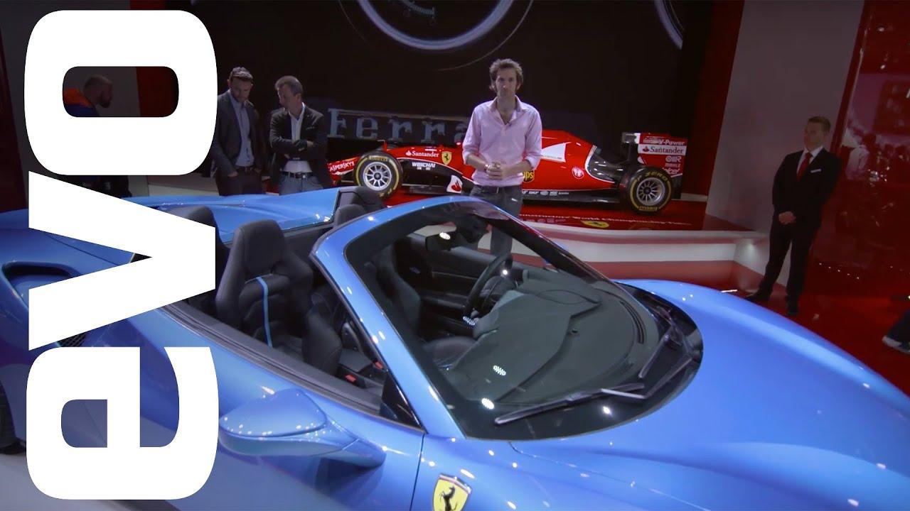 Ferrari 488 Spider en Frankfurt 2015 | Evo MOTOR muestra