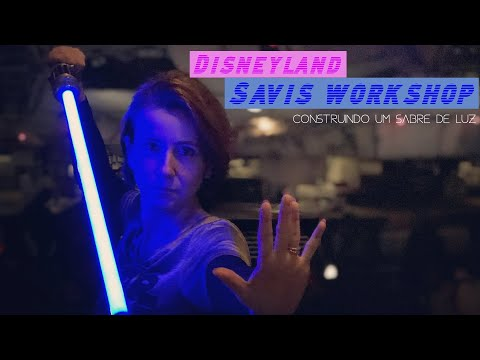 Savi's Workshop Disneyland | Construindo um sabre de luz | Experiência completa