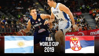 Argentina 🇦🇷 v Serbia 🇷🇸 | Classic Full Games - FIBA Basketball World Cup 2019