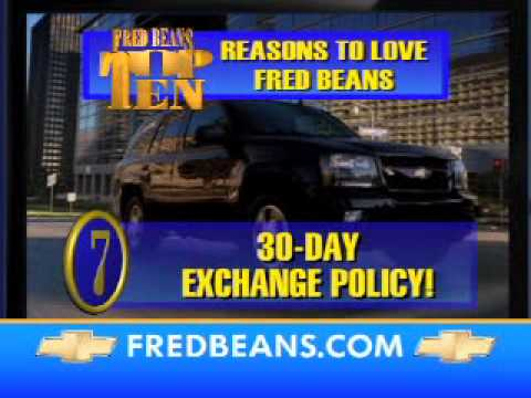 Fred Beans Chevrolet I Love Beans Sales Event