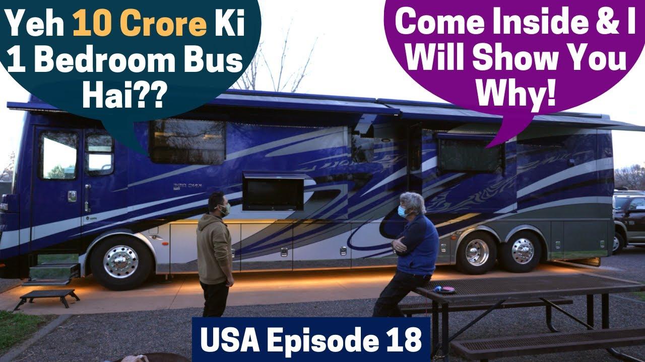 Ek Retired American Truck Chaalak Aur Uska Luxury Motohome!