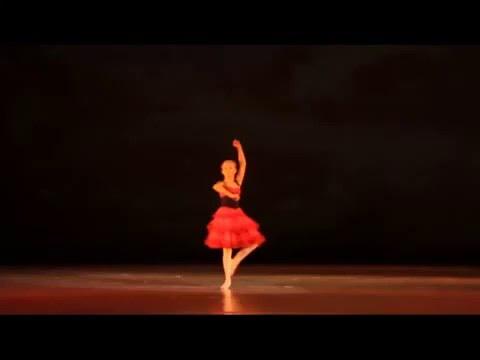 Л Минкус, вариация Китри из балета Дон Кихот, хореография М Петипа