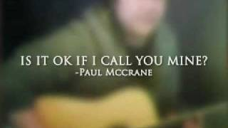 Is It OK If I Call You Mine? - cover by G-Man Thumbnail