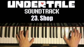 Undertale OST - 23. Shop (Piano Cover by Amosdoll)