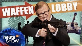 Die deutsche Waffenlobby scheißt auf Regeln! | Martin Klempnow: Der Lobbyist | heute-show