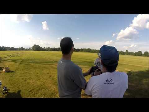 Oxford Falcons RC Flight Club at the Tula Turf Farm