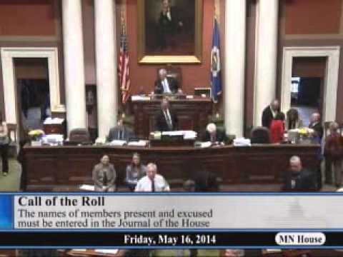 House floor session - part 1  5/16/14