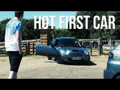 HIS FIRST CAR ISN'T SLOW!? - @Devoted_Media's Mini Cooper S Supercharged!