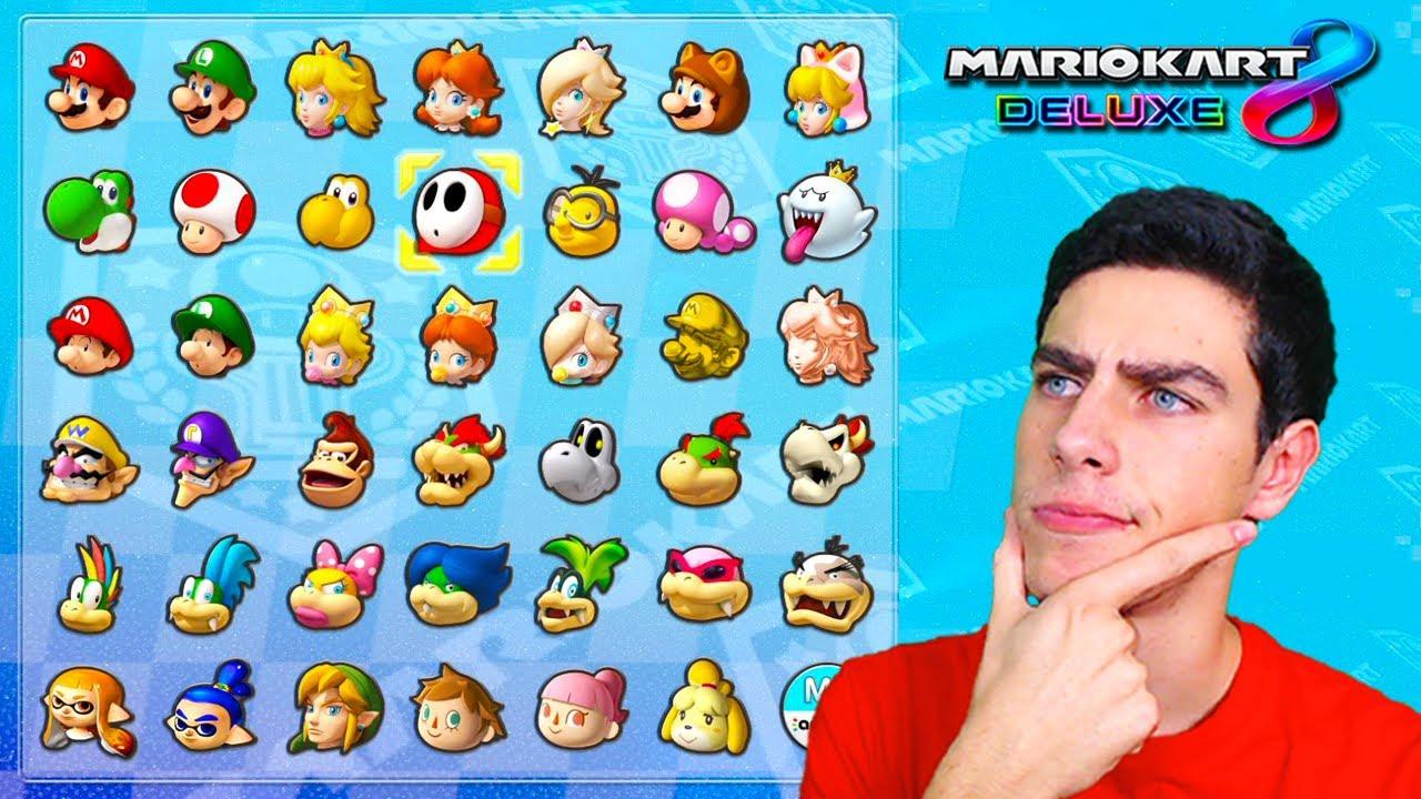 CÓMO SABER CUÁL ES TU PERSONAJE PERFECTO EN MARIO KART 8 DELUXE | Nintendo Switch