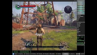 Elex DXVK Test 48fps NVENC x64 + Sound (Core i3 8350K) con el Wine64 3.13 Staging + Nvidia 396.24