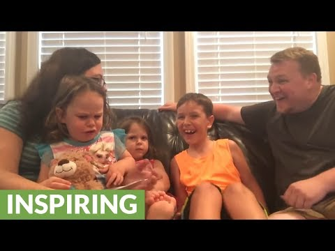 Big sisters devastated by family's gender reveal news