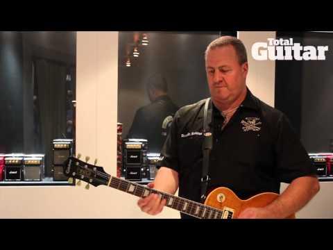 NAMM 2013: Marshall SL-5 Slash signature combo demo
