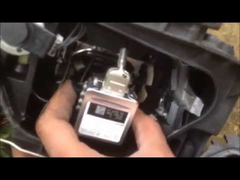 A5 Headlamp change / How to replace a headlight bulb on an Audi A5
