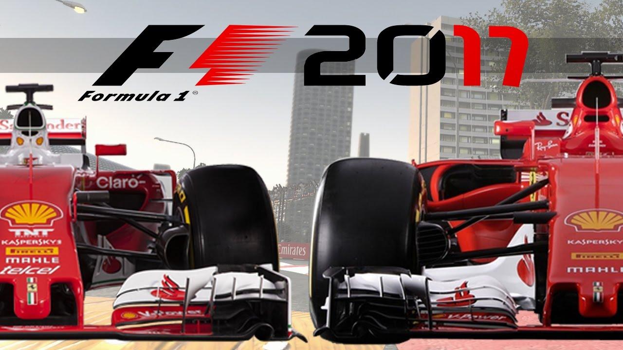 f1 2017 new ferrari sf70h vs 2016 ferrari sf16 h appearance youtube. Black Bedroom Furniture Sets. Home Design Ideas