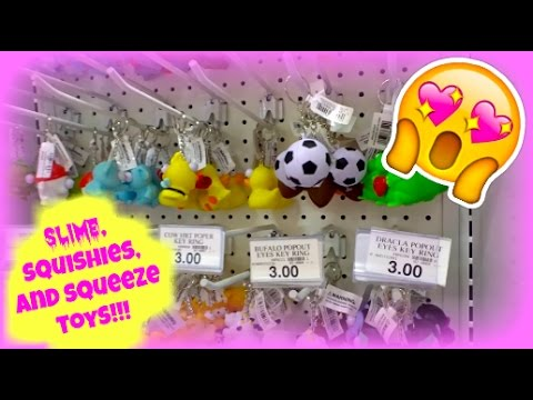 NEW SLIME, SQUISHIES, AND SQUEEZE TOYS AT TOYS R US!!! VLOG - YouTube