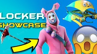 FORTNITE SKIN COLLECTION/ LOCKER COLLECTION! (27,500 V-BUCKS) FORTNITE BATTLE ROYALE SKIN SHOWCASE