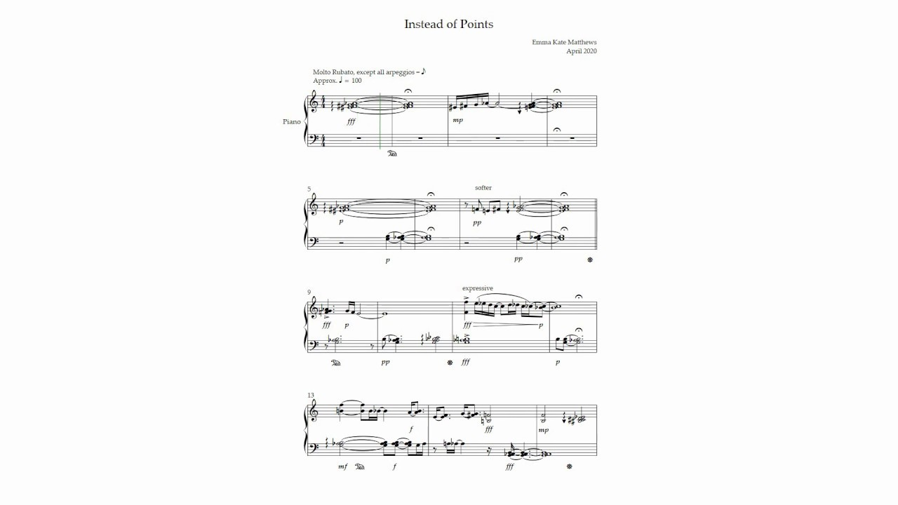 TWENTY - Music for Piano
