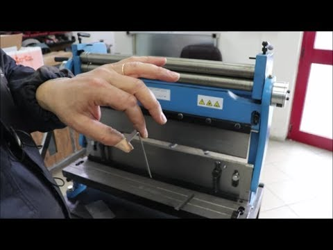 Cesoia lamiera Piegatrice Calandra CCP-610 CCP-610 Sheet metal bending bending machine