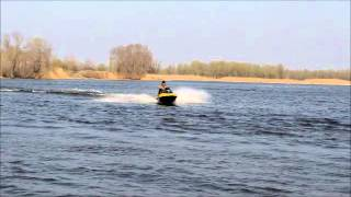 Гидроцикл Бомбардье и судовой двигатель ВАЗ-2112 16V 2