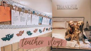 TEACHER VLOG feat. a new surprise!